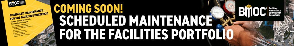 Scheduled Maintenance for the Facilities Portfolio Book Coming Soon